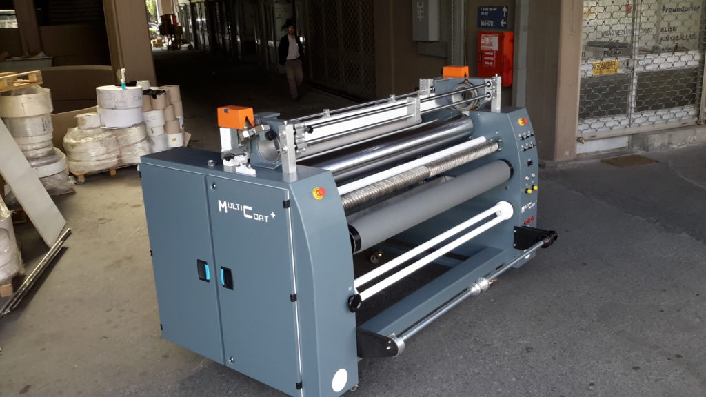 Textile And Fabric Coating Machines For Single Or Double